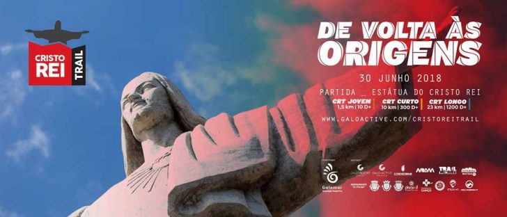 Cartaz Trail do Cristo Rei 2018
